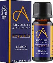 "Духи, Парфюмерия, косметика Эфирное масло ""Лимон"" - Absolute Aromas"