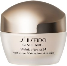 Духи, Парфюмерия, косметика Увлажняющий антивозрастной ночной крем для лица - Shiseido Benefiance WrinkleResist24 Night Cream