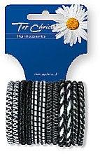 Духи, Парфюмерия, косметика Резинки для волос 12шт, микс, 22371 - Top Choice