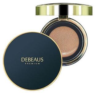 Крем-кушон, со сменным блоком - Debeaus Premium Cream Cushion SPF50