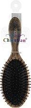 Духи, Парфюмерия, косметика Щетка для волос, CR-4260, черно-золотая - Christian