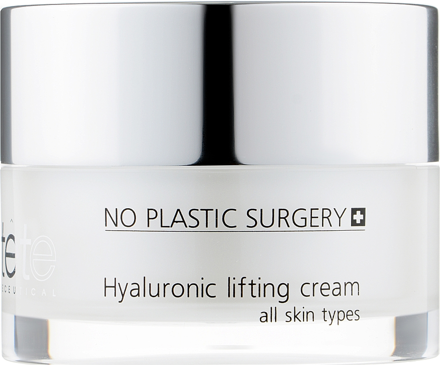 Липосомальный лифтинг-крем с гиалуроновой кислотой и пептидами - TETe Cosmeceutical Hyaluronic Lifting Cream