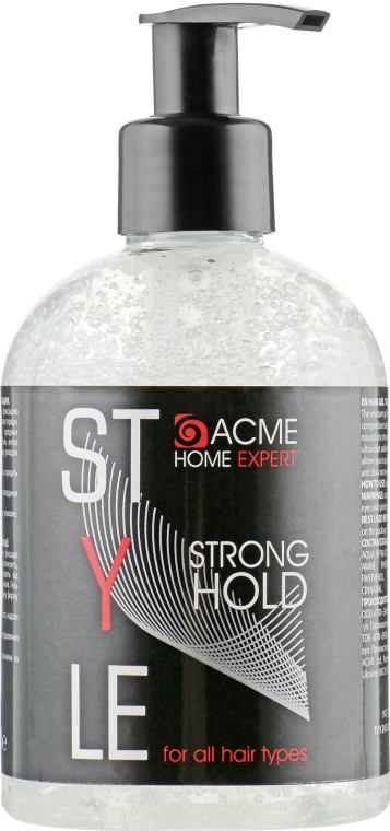 Гель для волос сильной фиксации - Acme Color Acme Home Expert Style