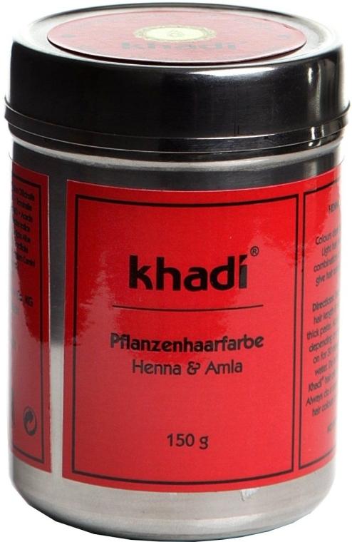 Органическая травяная краска для волос «Хна и Амла» - Khadi Herbal Hair Colour Henna & Amla