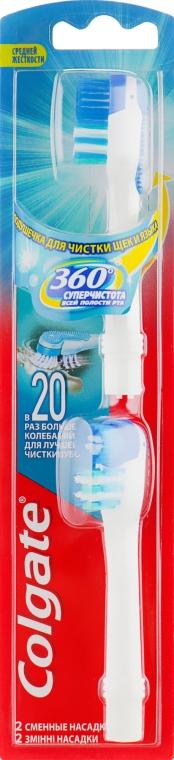 Сменные насадки для зубной щетки, средней жесткости - Colgate
