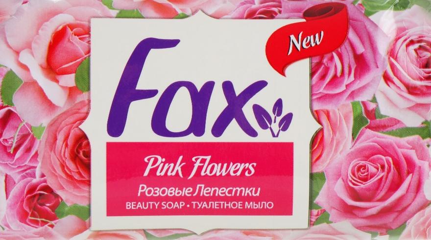 """Туалетное мыло """"Розовые лепестки"""" - Fax Soap"""