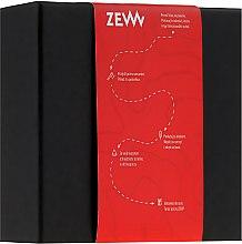 Духи, Парфюмерия, косметика Мужской набор - Zew For Men Barber's Holiday Kit (soap/85ml + soap/85ml)