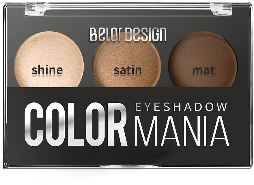 Тени для век - Belor Design Smart Girls Color Mania Eyeshadow