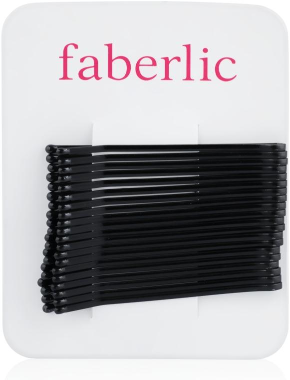 Набор невидимок, черные (20 шт.) - Faberlic
