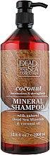 Шампунь с минералами Мертвого моря и кокосовым маслом - Dead Sea Collection Coconut Mineral Shampoo — фото N1