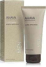 Парфумерія, косметика Крем для рук - Ahava Men Hand Cream