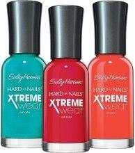 Духи, Парфюмерия, косметика Лак для ногтей - Sally Hansen Hard as Nails Xtreme Wear Nail Color Summer 2014