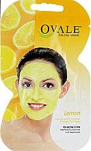 Духи, Парфюмерия, косметика Очищающая маска для проблемной кожи лица, склонной к появлению прыщей - Ovale Lemon Face Mask For Acne Care