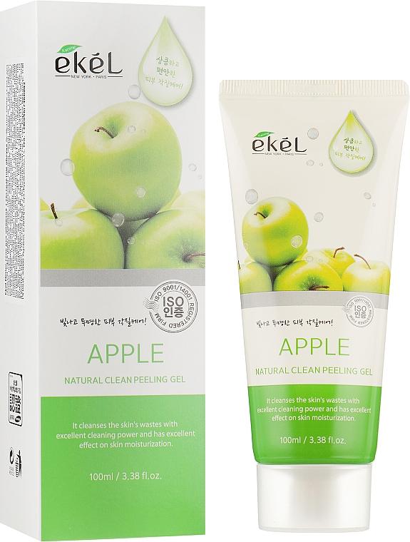"Пилинг-гель для лица ""Яблоко"" - Ekel Apple Natural Clean Peeling Gel"