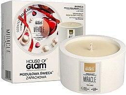 Духи, Парфюмерия, косметика Ароматическая свеча - House of Glam Miracle You Are Candle