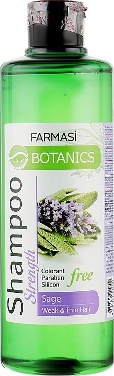 Укрепляющий шампунь с экстрактом шалфея - Farmasi Botanics Shampoo With Sage