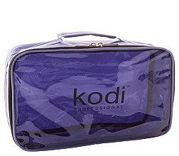 Духи, Парфюмерия, косметика Косметичка №17 нейлоновая на молнии, сиреневая - Kodi Professional