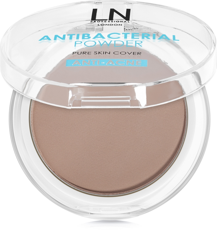 Антибактериальная пудра для лица - LN Professional Antibacterial Powder