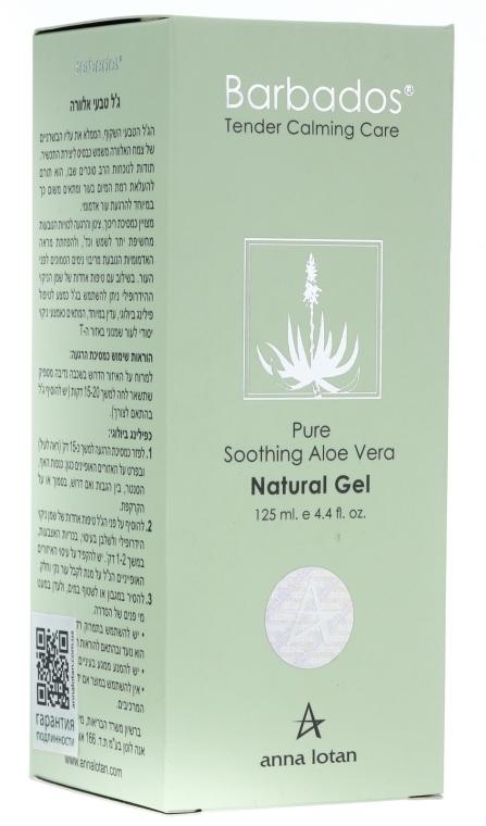Натуральний гель з алое вера - Anna Lotan Barbados Pure Soothing Aloe Vera Natural Gel — фото N3