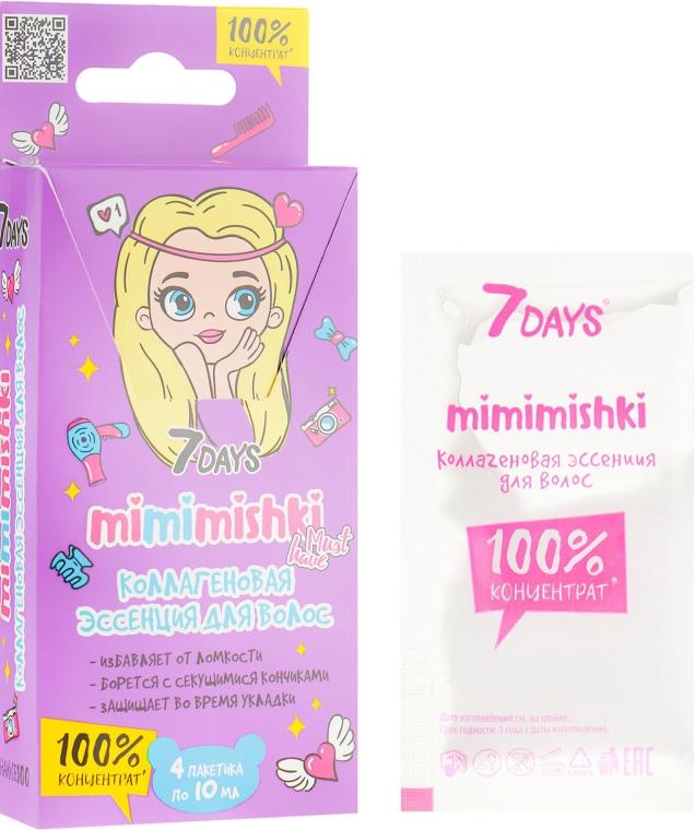 Коллагеновая эссенция для волос 100% концентрат - 7 Days Mimimishki Essence