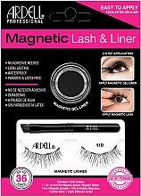 Духи, Парфюмерия, косметика Набор - Magnetic Lash & Liner 110 Lash Kit (eye/liner/2g + lashes/2pc)
