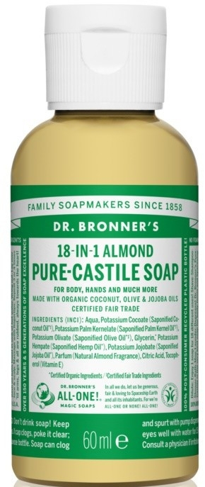 "Жидкое мыло ""Миндаль"" - Dr. Bronner's 18-in-1 Pure Castile Soap Almond"