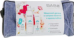 Парфумерія, косметика Набір - Babe Laboratorios (ton/250ml + cr/50ml + mic/wat/90ml + bag)