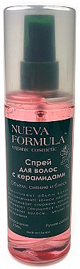 Спрей для волос с керамидами - Nueva Formula
