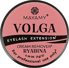 Духи, Парфюмерия, косметика Ремувер для ресниц кремовый - Mayamy Volga Cream Remover Ryabina