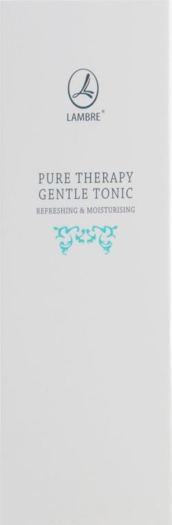 Тоник для лица с освежающим и увлажняющим эффектом - Lambre Pure Therapy Gentle Tonic