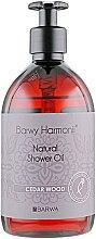 Духи, Парфюмерия, косметика Кедровое масло для душа - Barwa Harmony Oil Shower Cedar Wood