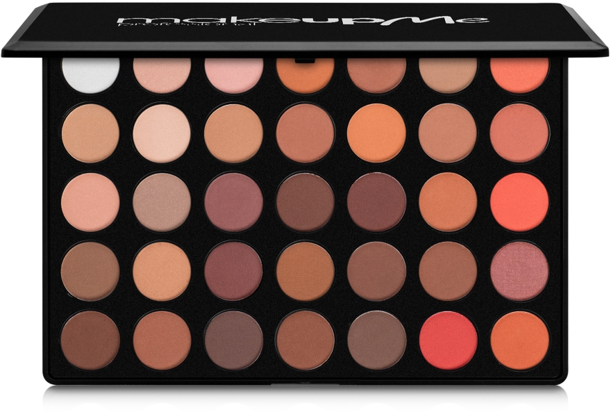 Профессиональная палитра теней 35 цветов, M35-1 - Make Up Me