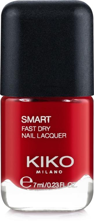 Быстросохнущий лак для ногтей - Kiko Milano Smart Fast Dry Nail Lacquer