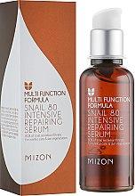 Духи, Парфюмерия, косметика Сыворотка для лица с улиточным муцином - Mizon Multi Function Formula Snail 80 Intensive Repairing Serum