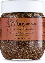 Скраб с медом и миндалем в эконом-упаковке - Morjana Hammam Essentials Refill Delicious Scrub-Almond Honey — фото N1