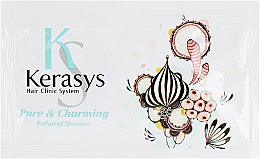 "Духи, Парфюмерия, косметика Шампунь для волос ""Шарм"" - KeraSys Pure & Charming Perfumed Shampoo (пробник)"