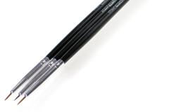 Парфумерія, косметика Набір пензликів для дизайну нігтів - MaxMar MNB-225