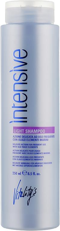 Шампунь для ежедневного использования - Vitality's Intensive Light Shampoo