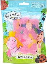 Духи, Парфюмерия, косметика Мочалка банная детская, вариант 2 - Suavipiel Ben & Holly's Bath Sponge