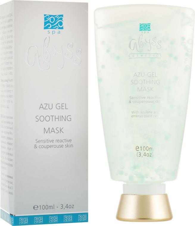 Азуленовая смягчающая гелевая маска с микрокапсулами - Spa Abyss Azu-Gel Soothing Mask