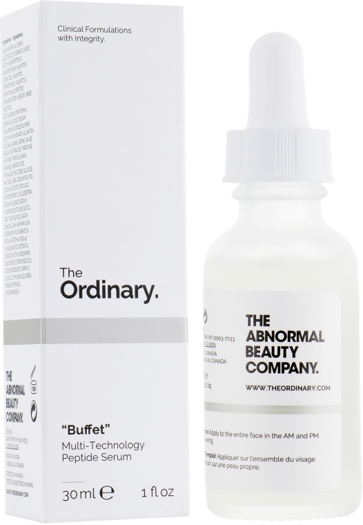 Пептидная сыворотка для лица - The Ordinary Buffet Multi-Technology Peptide Serum