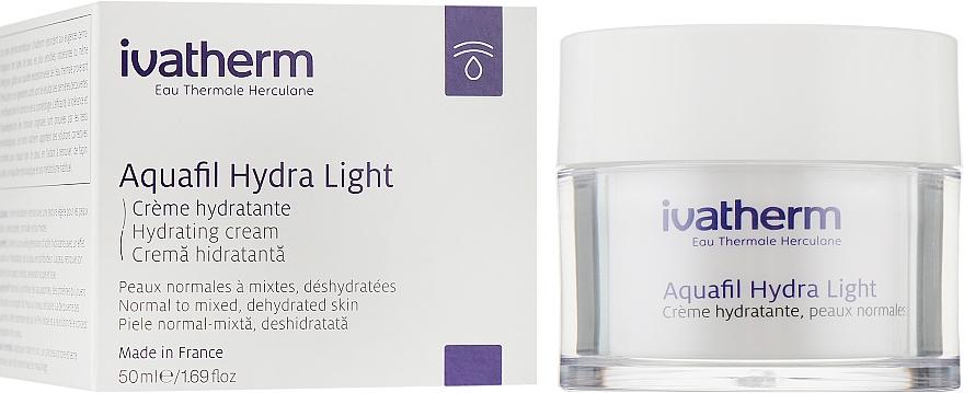 Увлажняющий крем для чувствительной, нормальной и комбинированной кожи лица - Ivatherm Aquafil Hydra Light Cream