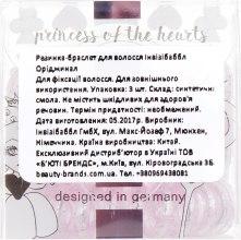 Резинка-браслет для волос - Invisibobble Original Princess of the Heurts — фото N3
