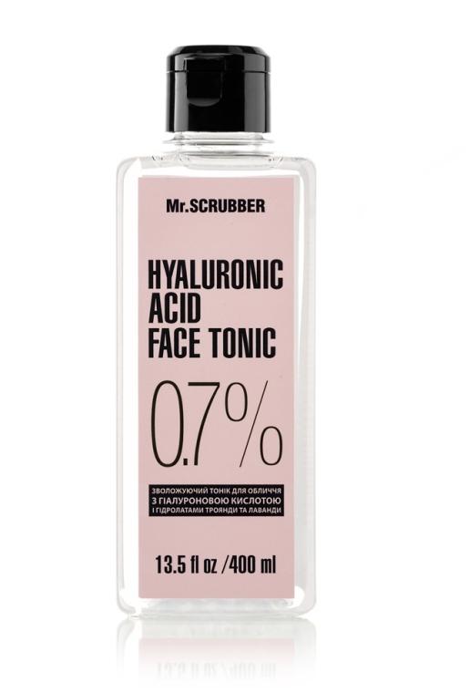 Тоник для лица с гиалуроновой кислотой - Mr.Scrubber Hyaluronic Acid Face Tonic