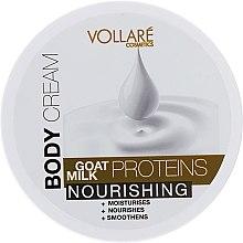Духи, Парфюмерия, косметика Питательный крем для тела с протеинами козьего молока - Vollare Body Cream