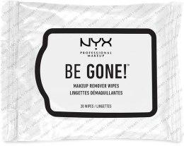 """Духи, Парфюмерия, косметика Салфетки для снятия макияжа """"Be Gone"""" - NYX Professional Makeup Makeup Remover Wipes"""
