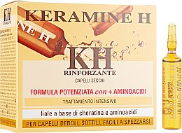 Духи, Парфюмерия, косметика Ампулы для укрепления сухих волос - Keramine H Reinforcing Treatments Dried Hair Field