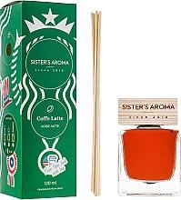 "Духи, Парфюмерия, косметика Аромадиффузор ""Кофе латте"" - Sister's Aroma"