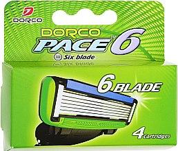 Духи, Парфюмерия, косметика Сменные кассеты для бритья - Dorco Pace 6