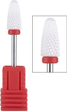 Насадка для фрезера керамическая (F) красная Flame - Vizavi Professional